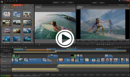 Video düzenleme yazılımında en üst düzey