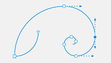 Gelişmiş vektör önizlemeleri, noktalar ve tutaçlar