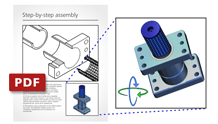 3D PDF oluşturma