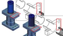 3D CAD'den illüstrasyona otomatik güncelleme yeteneği
