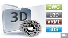 3D içe alma ve görselleştirme araçları