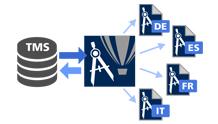 Çeviri Bellek Sistemi (TMS) desteği