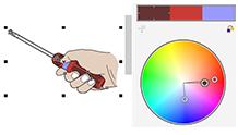 Kolay renk harmonisi düzenleme