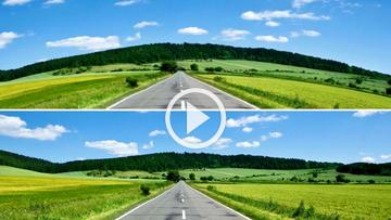 Lens Correction araçları