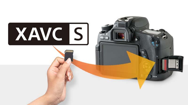 SD'ye kaydedilen XAVCS