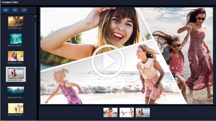 Ekran Bölme Videosu Şablon Oluşturucusu