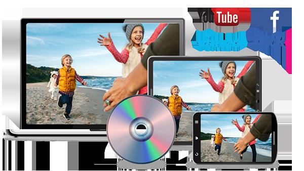 Ailenizle ve arkadaşlarınızla paylaşmak için videolar oluşturun