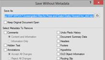 Metadata Removal