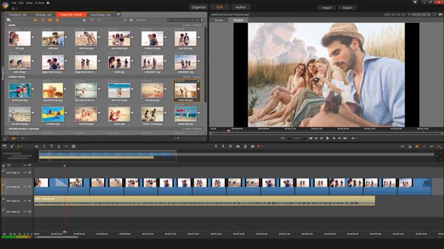 Sürükle ve bırak HD video düzenleme