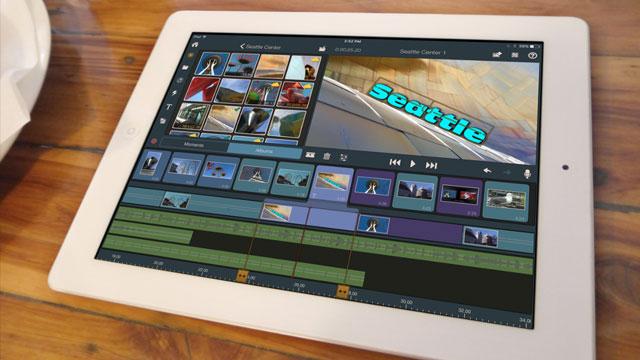 Hareket halindeyken video düzenleme yazılımı