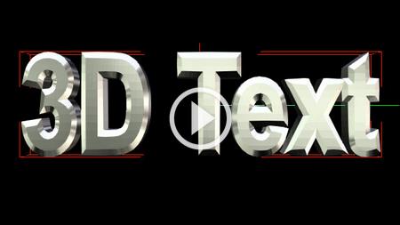 3D başlık editörü