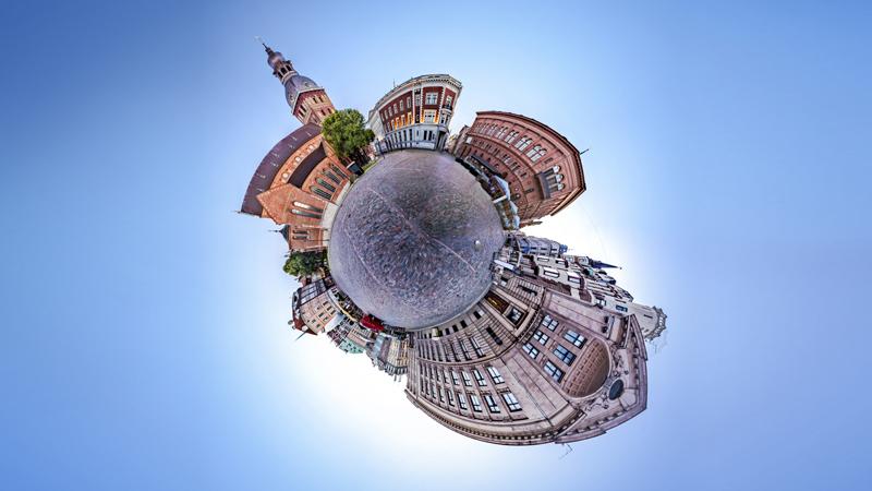 360 Video 'Küçük Gezegen' efekti