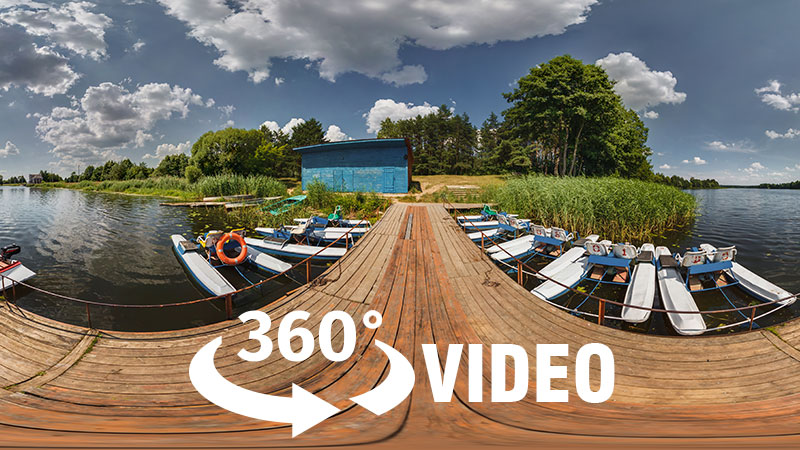 360 videoları düzenleyin