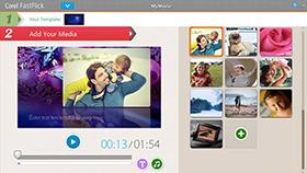 Hızlı ve kolay slayt gösterileri ve videolar