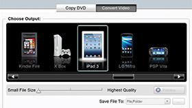 Videoyu çeşitli aygıtlar için dönüştürün