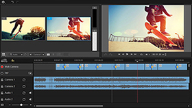 2 açılı Çoklu-Kamera Editörü