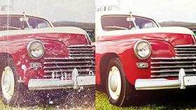 Eski fotoğrafları onarın