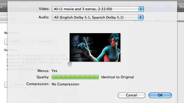 DVD Video kopyalayın