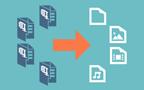 Zip dosyalarını İçerikleriyle değiştirme